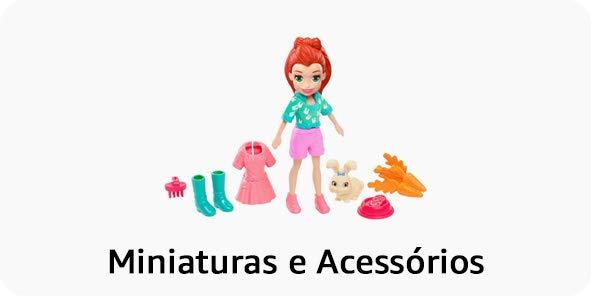 Bonecas de Miniatura e Acessório