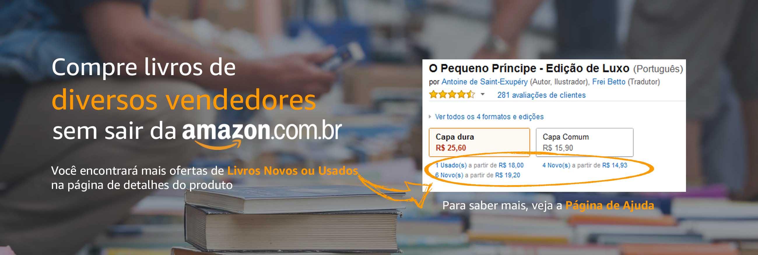 Compre Livros de Diversos Vendedores