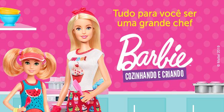 Barbie - Cozinhando e Criando