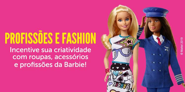 Barbie - Profissões e Fashion