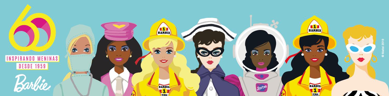 Barbie - 60 Anos Inspirando meninas desde 1959