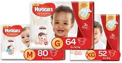Fralda Huggies Supreme Care Hiper