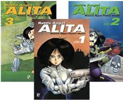 Coleção Battle Angel Alita com 50% off
