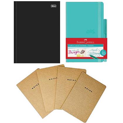 Caderno Brochura Capa Dura, Tilibra, D+, 116734, 96 Folhas, Tamanho 1/4 (14x20 cm), Vermelho, Pautado, 1 Matéria