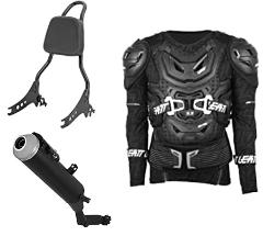 Joelheira Para Motocross LEATT Unissex GG Preto
