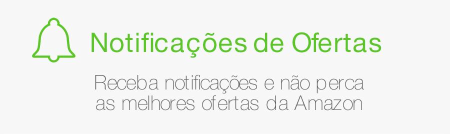 Notificações de Ofertas - Receba notificações e não perca as melhores ofertas da Amazon.