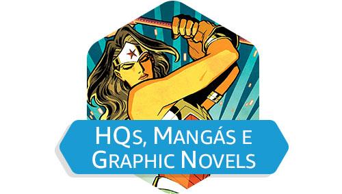 HQs, Mangás e Grafic Novels