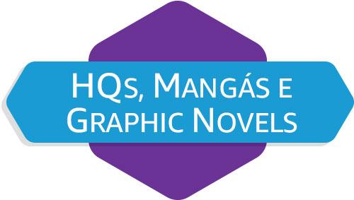 HQs, Mangás e Graphic Novels