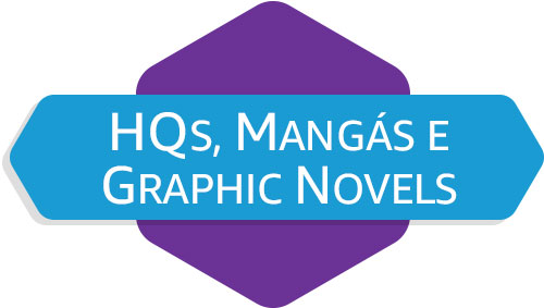 HQs, Mangás e Graphic Novels
