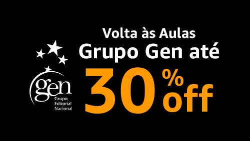 Volta às Aulas - Grupo Gen até 30% off