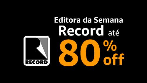 Editora da Semana Record até 80% off