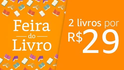 Feira do Livro - 2 livros por R$29