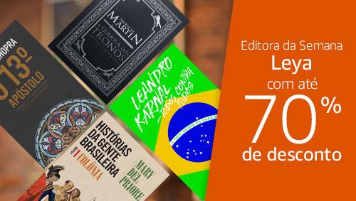 Editora da Semana LeYa: até 70% de desconto