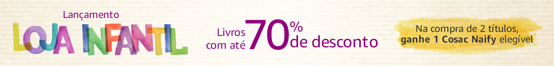 Lançamento Loja Infantil: Livros com até 70% de desconto