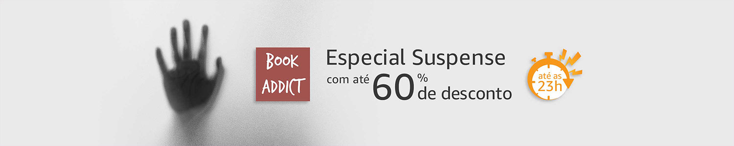 Book Addict: Especial Suspense até 60% off