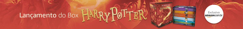 Lançamento Box Exclusivo Harry Potter