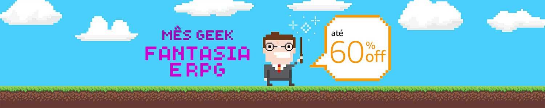 Mês Geek: Fantasia e RPG com até 60% de desconto