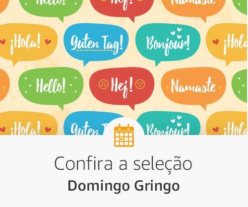 Melhores livros e descontos - Domingo Gringo
