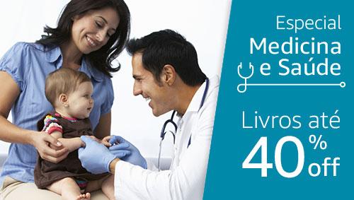 Especial Medicina e Saúde - Livros até 40% off off