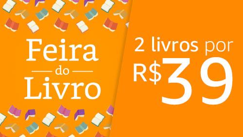 Feira do Livro: 2 livros por R$39