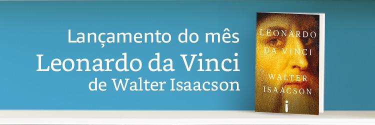 Lançamento do mês: Leonardo da Vinci