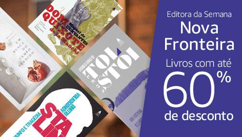 Editora da Semana Nova Fronteira - Livros com até 60% de desconto