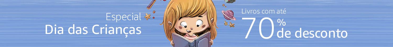 Especial Dia das Crianças - livros com até 70% de desconto