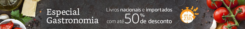 Especial Gastronomia: Livros nacionais e importados com até 50% de desconto