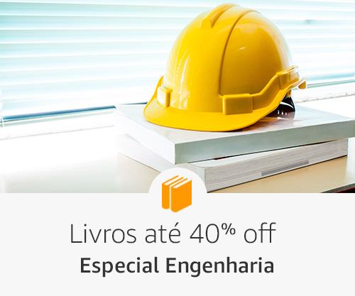 Livros até 40% off - Especial Engenharia