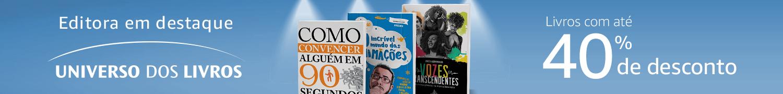 Editora em Destaque Universo dos Livros - até 40% off