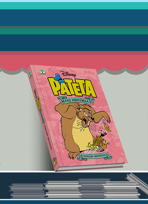 Pateta faz história