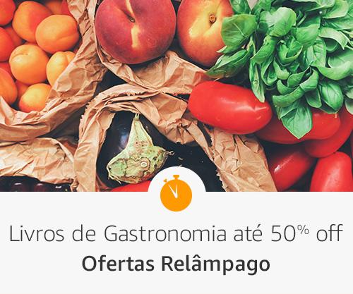 Livros de gastronomia até 50% off - pfertas relâmpago