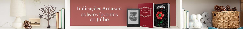 Indicações Amazon - Os livros favoritos de Julho