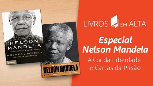 Livros em alta: especial Mandela