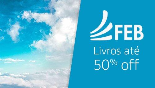 Editora FEB: livros até 50% off