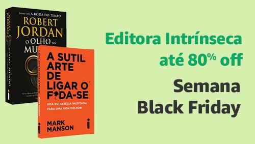 Editora Intrínseca até 80% off