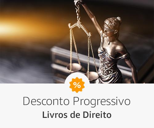 Livros de direito com desconto progressivo