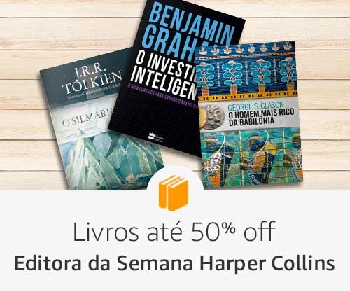 Editora Harper Collins Livros até 50% off