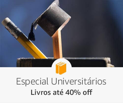 Livros até 40% off - especial universitários