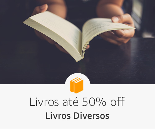 Especial Diversos- Livros até 50% off