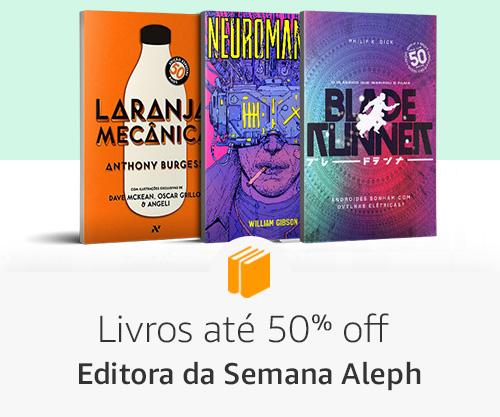 Livros até 50% off - Editora da Semana Aleph