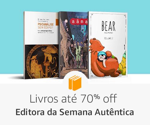 Editora da Semana Autêntica - Livros até 70% off
