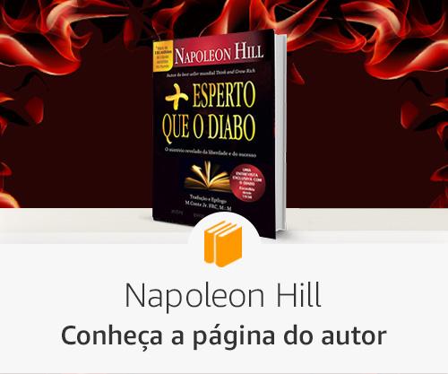 Conheça a página do autor - Napoleon Hill