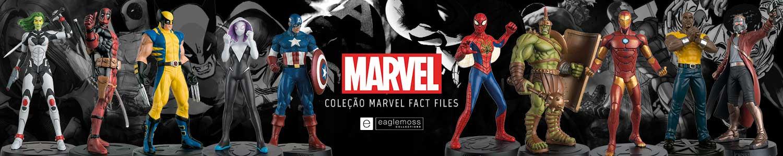 Coleção Marvel Fact Files