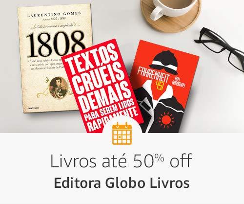 Livros até 50% off- Editora Globo