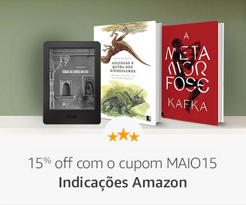 Indicações Amazon- 15% off