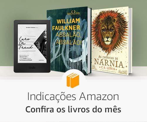 Indicações Amazon - Confira os livros do mês