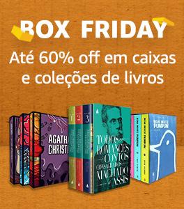 Box Friday: Até 60% off em caixas e coleções de livros