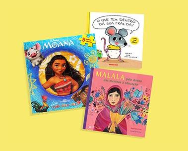 Livros infantis: até 50% off para educar e divertir