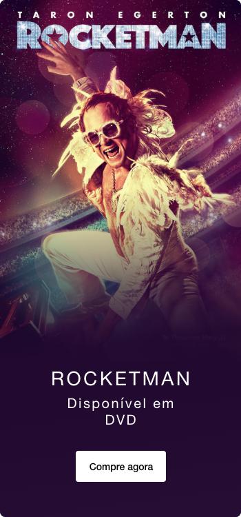 Rocketman: Disponível em DVD
